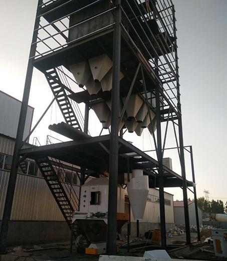 承建驻马店市吉兴隆饲料生产线(颗粒料)
